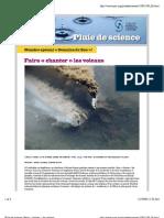 Pluie de science | Faire «chanter» les volcans