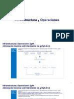 Avance Infraestructura y Operaciones