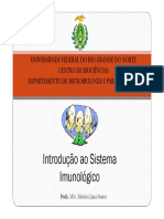 Aula Introdução a Imunologia