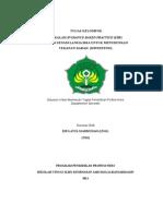 Tugas EBP Revisi (Senam Lansia Dengan Hipertensi)