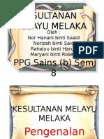 Zaman Kesultanan Melayu Melaka Sem 8