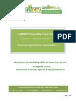 Présentation d'AGRIDEV Dec-2014