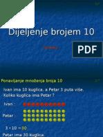 DELJENJE BROJEM 10
