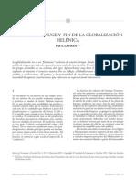 Paul Laurent, Nacimiento, auge y fin de la globalización helénica
