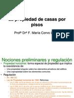 La Propiedad de Casas Por Pisos Tras Reforma 2013