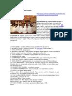 Hierarquia No Candomblé Angola