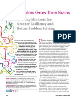 Preschoolers Grow Their Brain