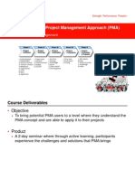 PMA Principles Course