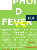 Enteric Fever