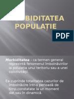 Morbiditatea populație