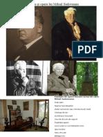 Viața Și Opera Lui Mihail Sadoveanu