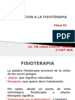 Introduccion a La Fisioterapia