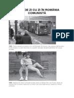 Viaţa de Zi Cu Zi În România Comunistă