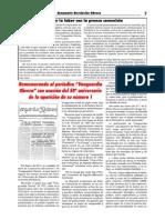 Rememorando al periódico Vanguardia Obrera