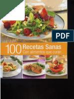 100 Recetas Sanas Con Alimentos Que Curan - 1