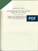 Confesiones de Sor Juana - Margarita Urueta