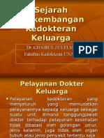 K-1(Sejarah Fam. Medicine)