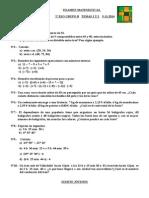 Examen 2º Eso Grupo b Temas 1 y 2