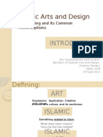 Re-defining Islamic Arts and Design