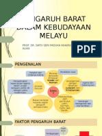 Pengaruh Barat dalam Kebudayaan Melayu
