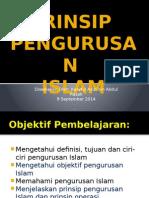 Prinsip Pengurusan Islam
