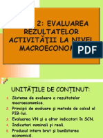 Tema 2. Evaluarea Rezultatelor Activității La Nivel Macroeconomic_1