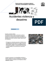 Accidentes, Violencia y Desanstres 2015-2