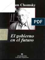 El Gobierno en El Futuro - Chomsky, Noam
