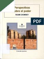Perspectivas Sobre El Poder - Chomsky, Noam