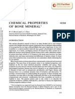 Chemical Properties of Bone Mineral
