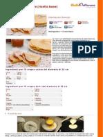 Crepes Dolci e Salate Ricetta Base