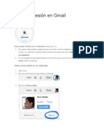 Uso de Gmail