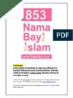 853 Nama Bayi Muslim