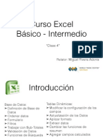 Clase 4 Excel Básico - Intermedio Tablas Dinamicas