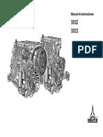 Manual Instrucciones Motor 1012-1013