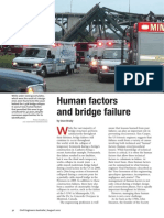 Human Factors and Bridge Failure