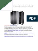Layout Dan Desain Personal DataCenter