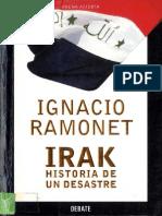 Irak, historia de un desastre - Ignacio Ramonet