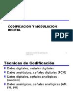 Codificación y Modulación digital