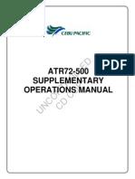 ATR 72 500 Supplementary Operations Manual