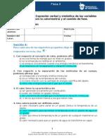 MII - U2 - Actividad 1. Expresión Verbal y Simbólica de Las Variables Relacionadas Con La Calorimetría y El Cambio de Fase