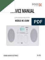 Daewoo MC-15UBW_Audio Bluetooth System Sm