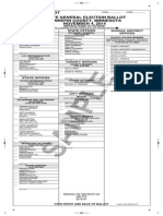 Sample Ballot