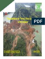 Deslizamiento de Tierra y Roca Que Obstruyo El Grijalva