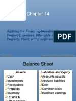 Auditing the Financing/Investing Process