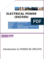 Lecture 2 Electrical Power