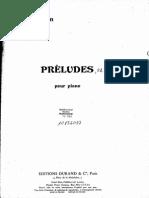 Olivier Messiaen 8 Préludes Pour Piano