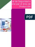 Manual de Seguridad e Higiene en El Area de Producción de Alimentos