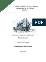 metodologia de la arquitectura