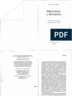Marxismo y Literatura - Raymond Williams Paginas 93 a 101 y 129 a 136 y 159 a 164
